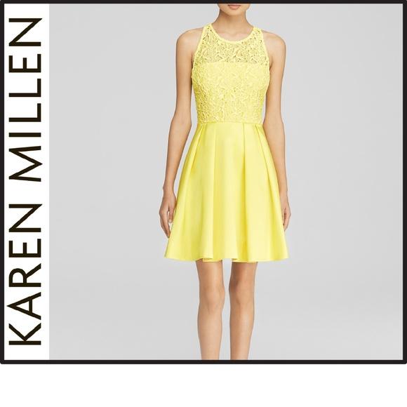 bb253b6b4e Karen Millen Dresses | Nwt Lace Panel Dress | Poshmark